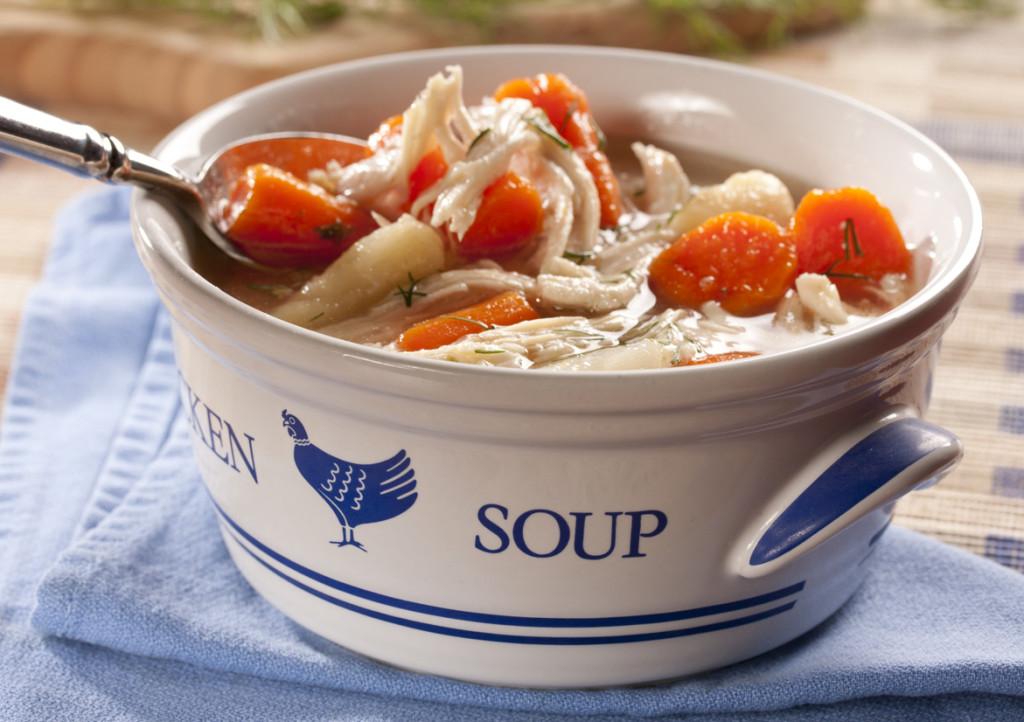Jaime's Mom's Chicken Soup
