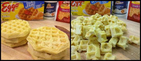 Make-Ahead Breakfast Casserole Waffles