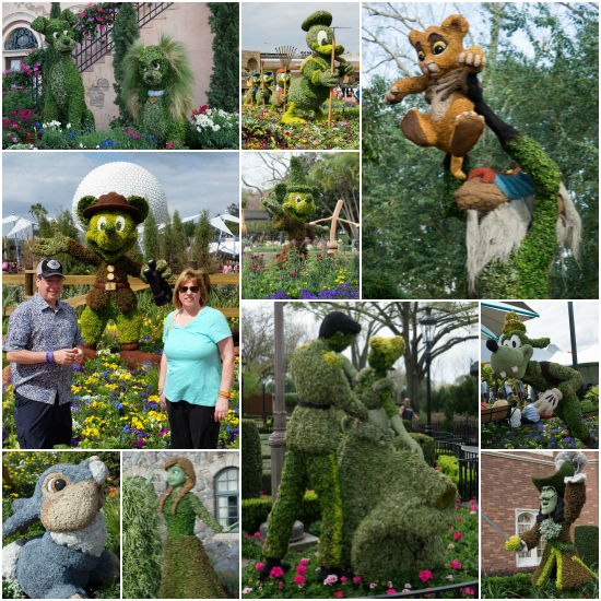 Topiaries-Collage