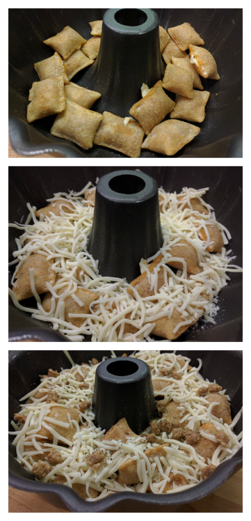 Pizza-Bundt-Layers