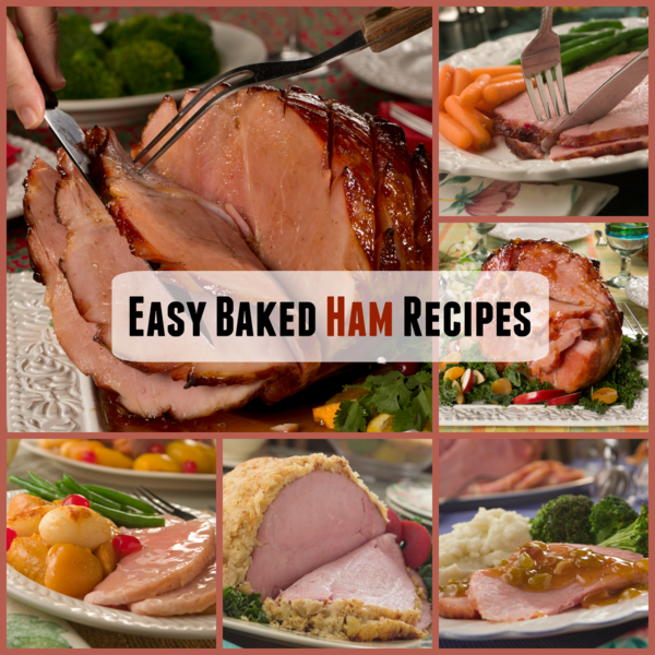 Easy Baked Ham Recipes Collection
