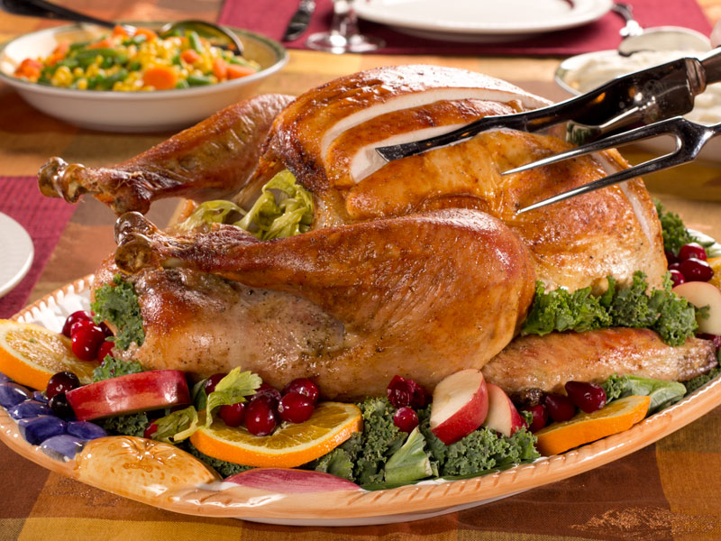 Butter Basted Herbed Turkey