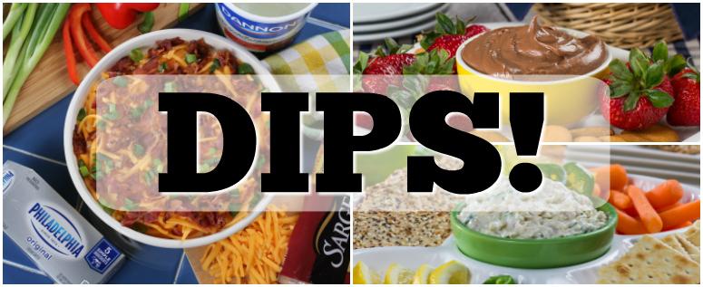 Test Kitchen Dip Swap