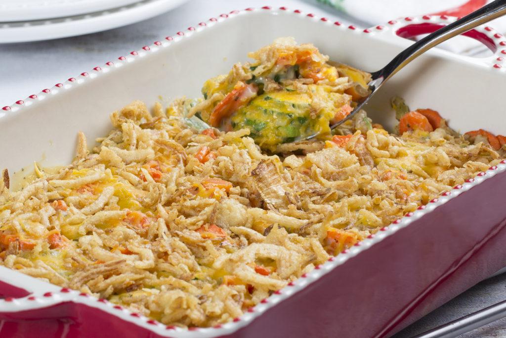 Summer Zucchini Recipes - Zucchini and Carrot Casserole