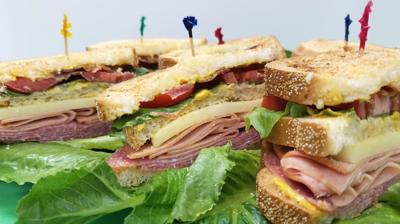 Italian Club Sandwiches