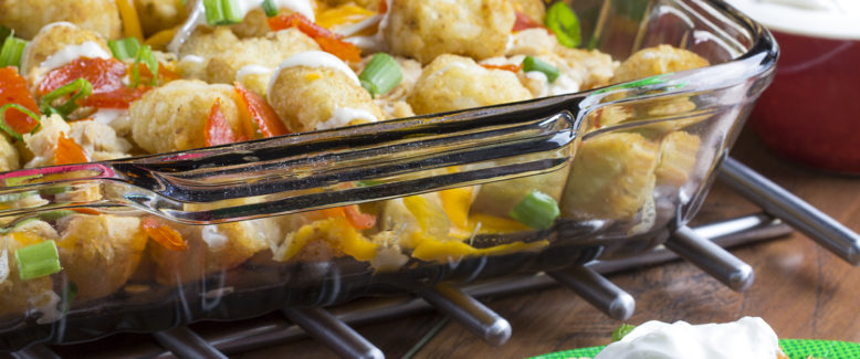 How to Make: Huddled-Up Chicken Tots