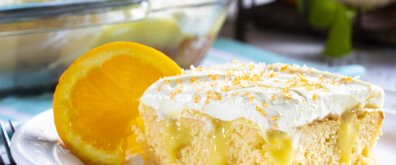 How To Make: Orange Cream Poke Cake