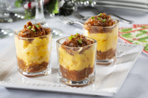 BBQ Pork Mac & Cheese Shooters
