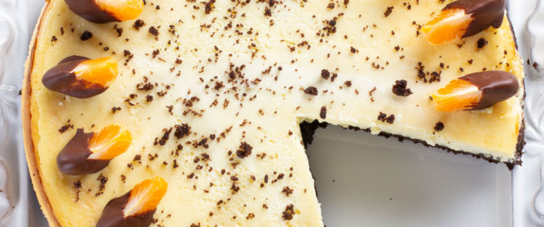 How to Make: Orange Chocolate Cheesecake