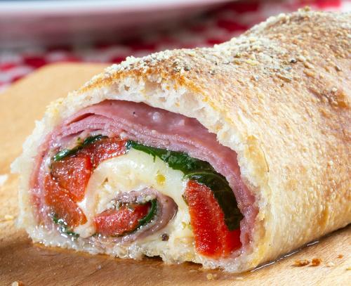 Pizzeria-Style Stromboli