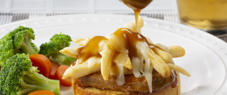 How to Make: Beefed-Up Open-Faced Poutine Sandwiches!